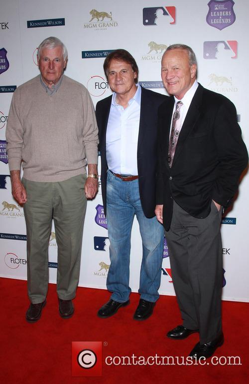 Bob Knight, Tony La Russa and Barry Switzer 8