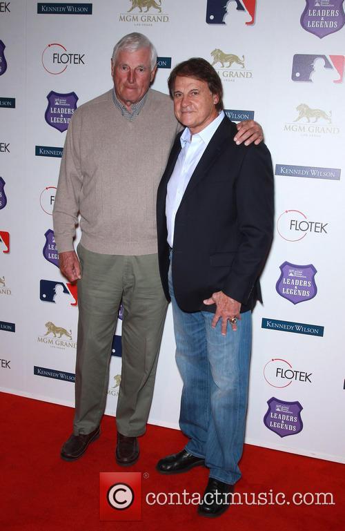 Bob Knight and Tony La Russa 2