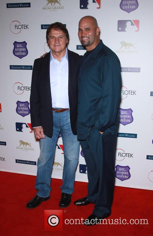 Tony La Russa and Albert Pujols 5