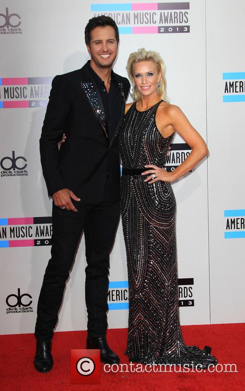 Luke Bryan and Wife Caroline Bryan 3
