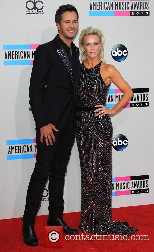 Luke Bryan and Wife Caroline Bryan 5