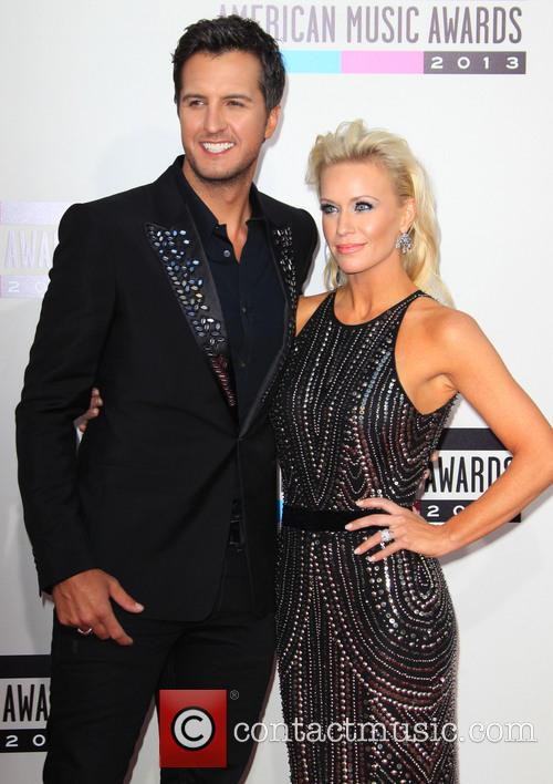 Luke Bryan and Wife Caroline Bryan 1