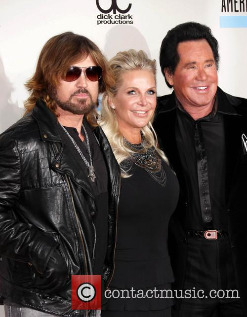 Billy Ray Cyrus, Wayne Newton and Kathleen Mccrone