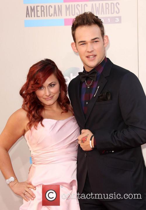 James Durbin, Heidi Lowe, Nokia Theatre L.A. Live, American Music Awards