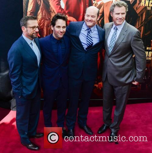 Will Ferrell, Steve Carell, Paul Rudd and David Koechner 4