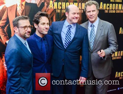 Will Ferrell, Steve Carell, Paul Rudd and David Koechner 6