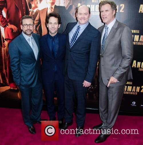 Will Ferrell, Steve Carell, Paul Rudd and David Koechner