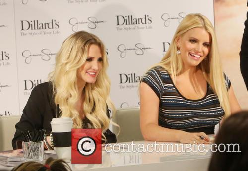 Jessica Simpson promotes her Collection at Northpark Mall