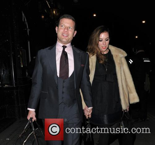 Dermot O'leary and Dee Koppang 2