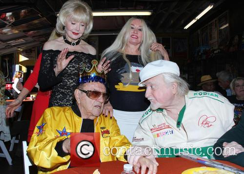 George Barris, Francine York, Marty Ingles and Mamie Van Doren 2