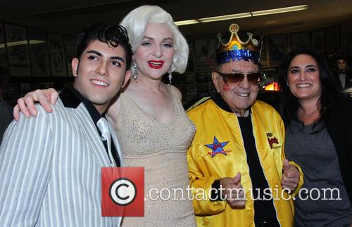Holly Beavon and George Barris 3