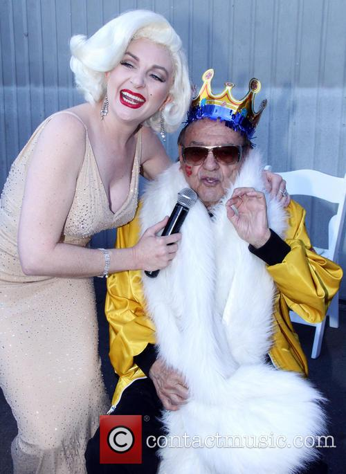 Holly Beavon and George Barris 1