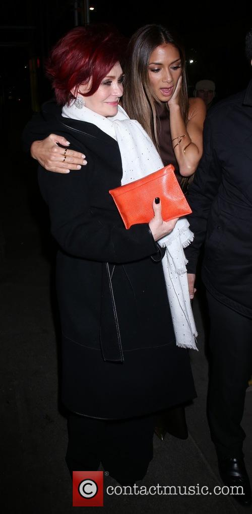 Nicole Scherzinger and Sharon Osbourne 3