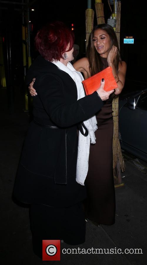 Nicole Scherzinger and Sharon Osbourne 9