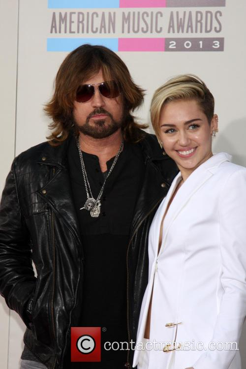billy ray cyrus miley cyrus american music awards 3970559