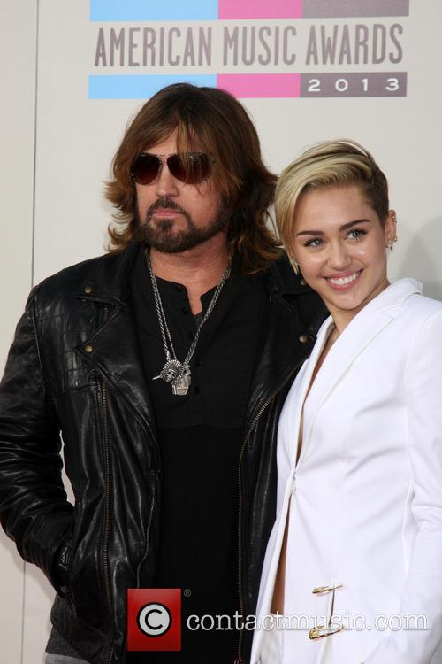 Billy Ray Cyrus and Miley Cyrus 1
