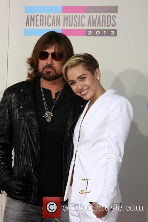 Billy Ray Cyrus and Miley Cyrus 4