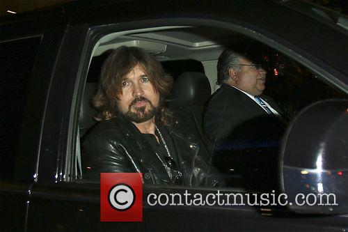 Billy Ray Cyrus leaves the American Music Awards...