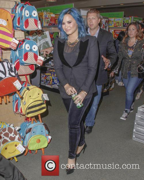 Demi Lovato Booksigning