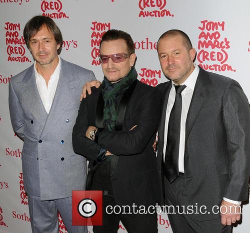 Sir Jonathan Ive, Bono and Marc Newson 1