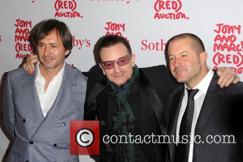 Sir Jonathan Ive, Bono and Marc Newson 2