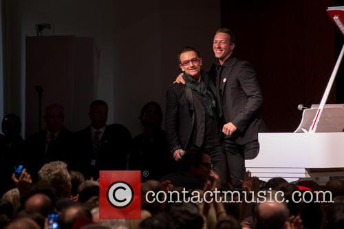 Bono and Chris Martin 8