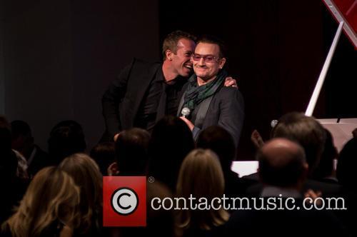Bono and Chris Martin