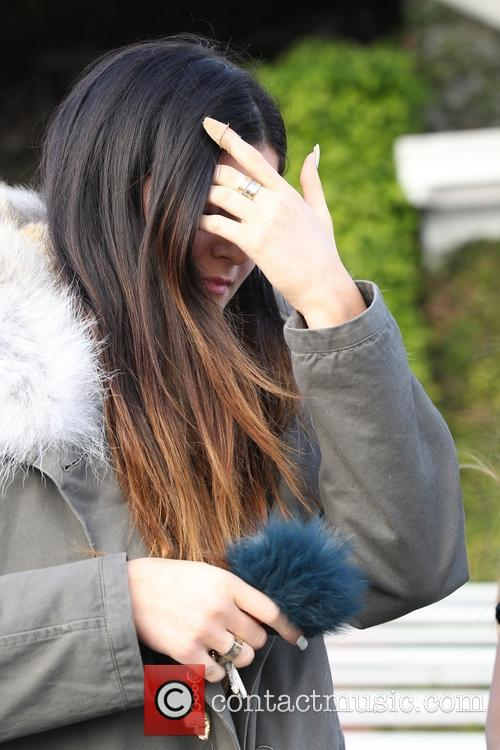 Kylie Jenner and Lil Twist at Mauro Cafe at Fred Segal Melrose Store in West Hollywood