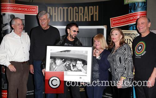 Ringo Starr, Gary Van Deursen, Bob Toth, Suzanne Rayot, Arlene Norbe and Charlie Schwartz 6