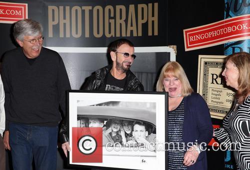 Gary Van Deursen, Ringo Starr, Suzanne Rayot and Arlene Norbe 2
