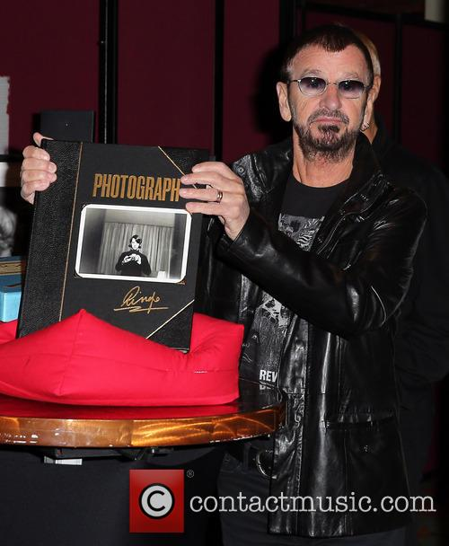 Ringo Starr Book and Print Exhibit at The...