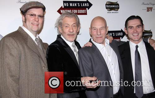 Shuler Hensley, Ian McKellen, Patrick Stewart and Billy Crudup