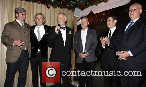 Shuler Hensley, Ian Mckellen, Sean Mathias, Patrick Stewart and Billy Crudup 3