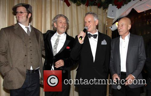 Shuler Hensley, Ian Mckellen, Sean Mathias and Patrick Stewart 2