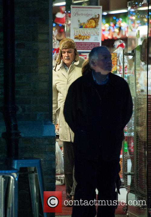 John Cleese out and about in Chelsea
