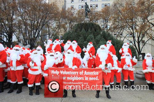 Side Walk Santas 2