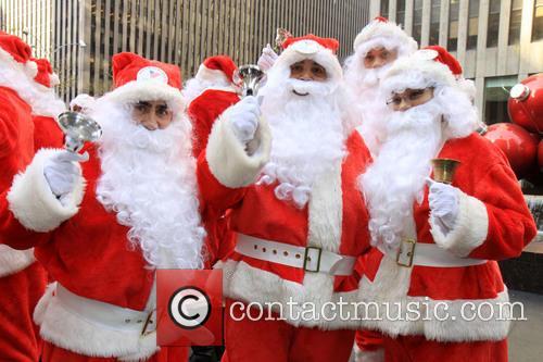 Side Walk Santas 3
