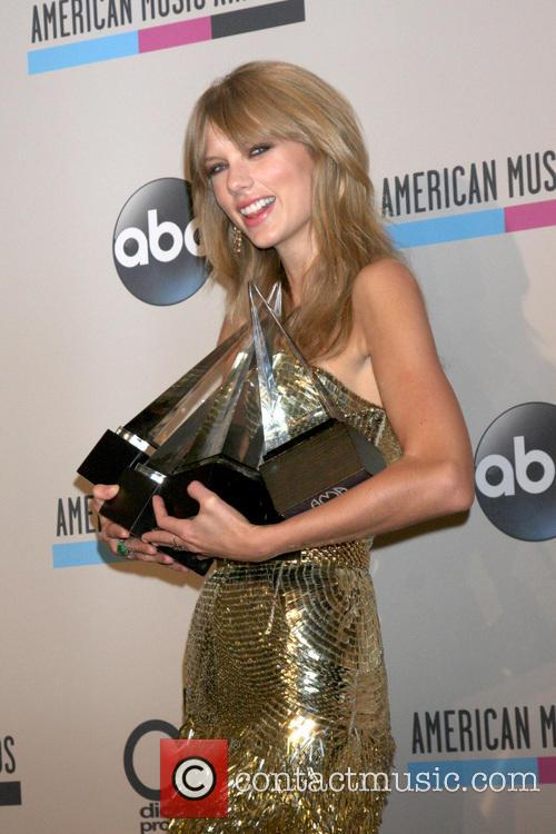 Taylor Swift, Nokia Theater at LA Live, American Music Awards