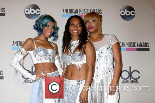 Lil Mama, TLC, Nokia Theater at LA Live, American Music Awards