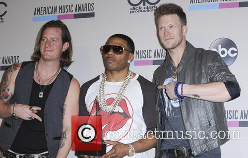 Brian Kelly, Tyler Hubbard and Nelly 3