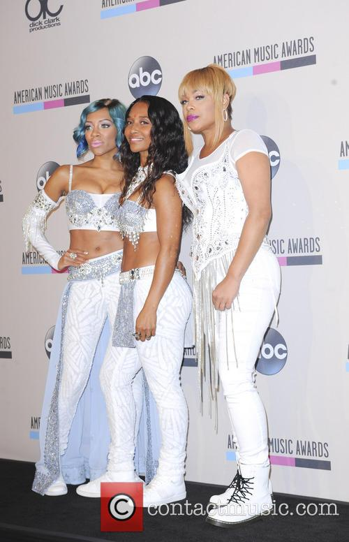 Lil' Mama, T-boz and Chilli 7