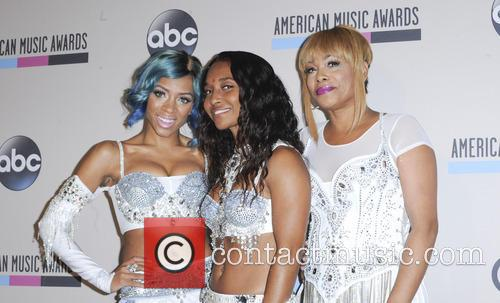 Lil' Mama, T-boz and Chilli 8