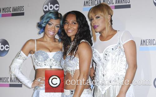 Lil' Mama, T-boz and Chilli 9