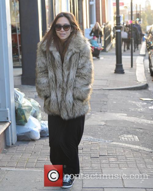 Myleene Klass out in london