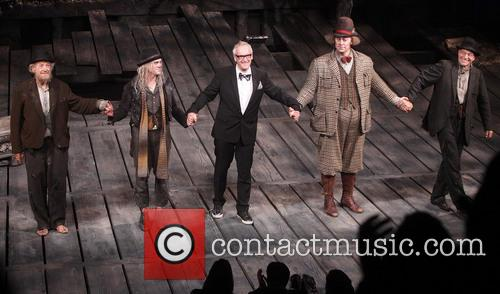 Ian Mckellen, Billy Crudup, Sean Mathias, Shuler Hensley and Patrick Stewart 3