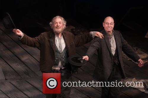 Ian McKellen, Patrick Stewart, Cort Theatre,