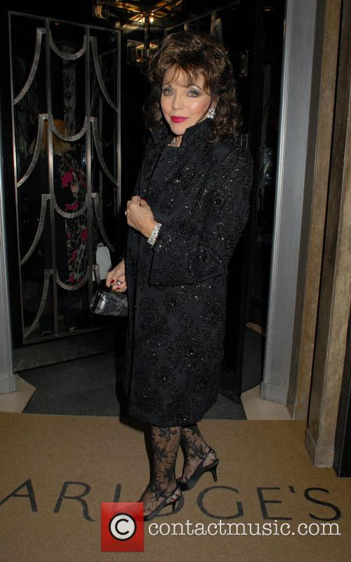 joan collins the claridges christmas tree unveiling 3971936
