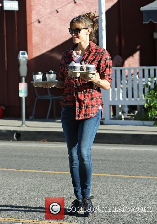 Jennifer Garner With Coffee