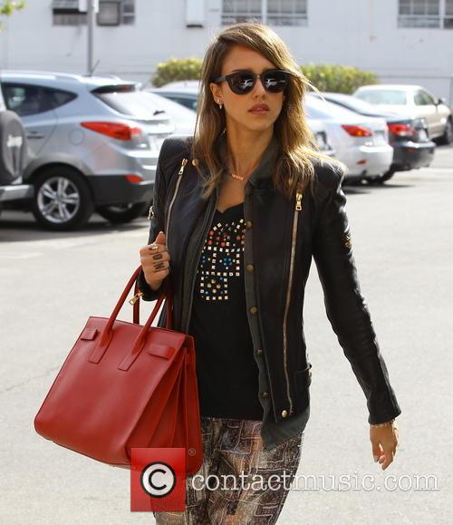 Jessica Alba out and about