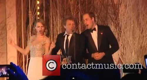 Taylor Swift, Jon Bon Jovi, Prince William and Duke of Cambridge 12